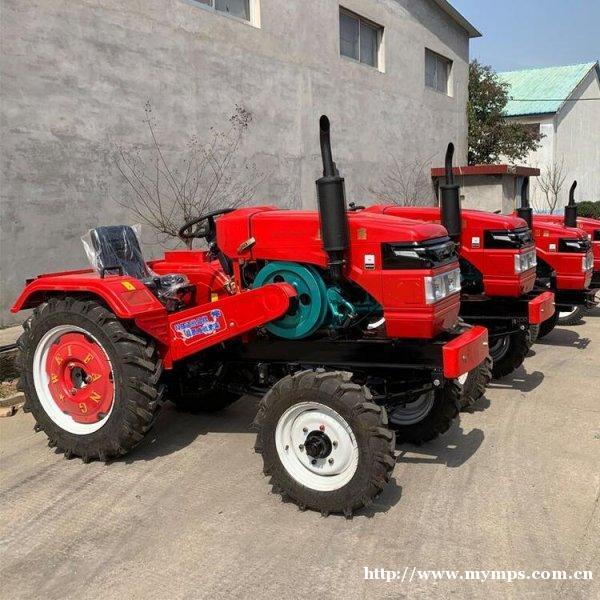 水旱两用型拖拉机 四驱四轮拖拉机 四轮拖拉机旋耕机